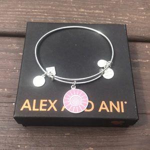 Alex and Ani Spiral Sun Bracelet